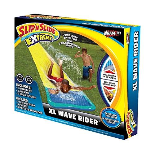Wasserrutsche Wasserbahn XL, 5,5 Meter lang, aufblasbar, mit Wasseranschluss für viel Spaß im Garten. Perfekt für jede Party und bei heißen Sommertagen Cooles Geschenk