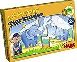Haba 7466 - 1, 2, Puzzelei - Tierkinder