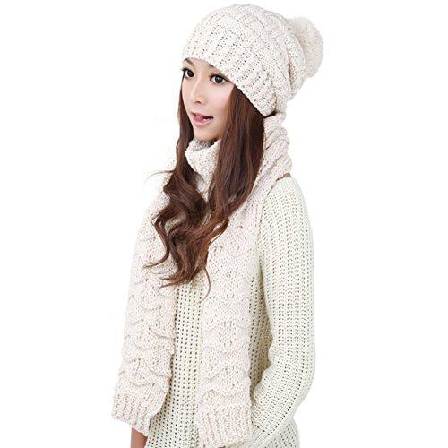 Version de Corée Hat/ écharpe/Bonnet chaud/ écharpe C