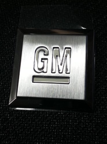 OEM Front Fender or Doors Mark of Excellence Stainless GM Emblems 15223483 by Chevrolet
