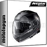 NOLAN CASCO MOTO MODULARE N100-5 PLUS DISTINCTIVE NERO MATTO 021 TG. XL