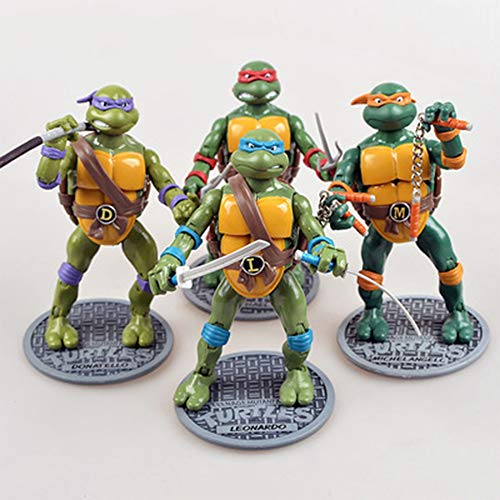 Classic Teenage Mutant Ninja Turtles - Chang 4 Teenage Mutant Ninja Turtles