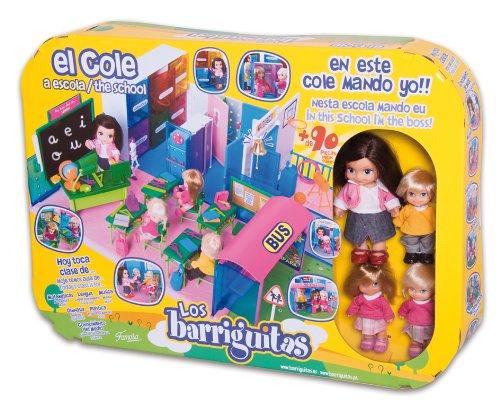 Imagen principal de Famosa Los barriguitas El Cole - Escuela de juguete con accesorios y 4 figuras