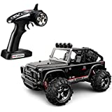 TOZO® C1155 RC CAR Battleax High Speed 32MPH 4x4 Fast Race Cars 1:22 RC SCALE RTR Racing 4WD ELECTRIC POWER BUGGY W/2.4G Radio Remote control Off Road Powersport black
