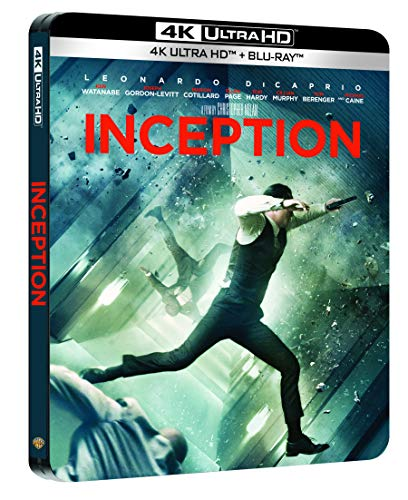 Inception [4K Ultra HD + Blu-Ray-Édition boîtier SteelBook]