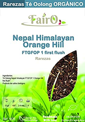 Fairo - Thé Oolong Nepal Himalayan FTGFOP 1 Orange Hill first flush BIO - 100 gr