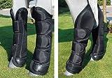Transporte HKM botas de poliéster, COB/tamaño completo negro