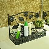 cuarto de baño estante de baño accesorios/Forja pared del inodoro/estantería/estante del...