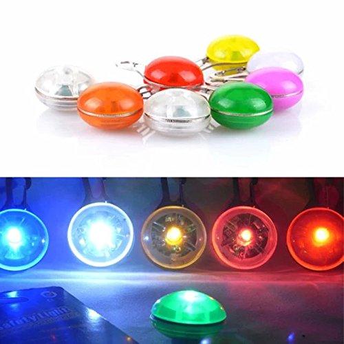 Sicherheitsanhänger/Anhänger für Hundehalsband/Katzenhalsband mit blinkender LED-Leuchte - 2