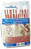 Buschbeck Feste Fuge Unkrautfrei NATUR HELL 20kg-Sack (1,75€/kg)