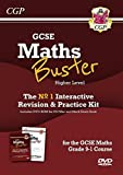 New MathsBuster: GCSE Maths Interactive Revision (Grade 9-1 Course) Higher - DVD&Exam Practice Pack (CGP GCSE Maths 9-1 Revision)