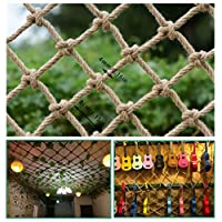 Size : 1x1m Child Safety net Child Safety Net Stairs Balcony Anti-Fall Nets Protective Nets Hemp Ropes Decorative Nets Restaurant Bar Ceiling Nets Climbing Nets Hanging Clothes Nets