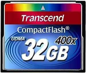 Transcend 400x Compactflash Card 32gb Speicherkarte Computer Zubehör