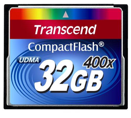 Transcend ts32gcf400 400x compact flash udma