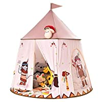 DUCKTOYS Children Play Tent with Unique Printed,boy Girls Castle Playhouse Game,For Indoor/Outdoor Use, Foldable