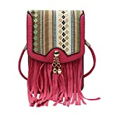 Hawai Stylish Printed Flap Small Sling Bag/ Mobile Pouch