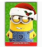 Kalender Minion 75 g Schokolade Adventskalender Weihnachtskalender Kinder Weihnachten (grün)