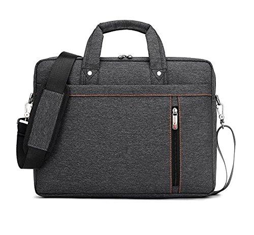 Luxus Wasserdicht Nylon Durable Laptop Computer Messenger Tasche mit Konvex Puffer Pad, schwarz -