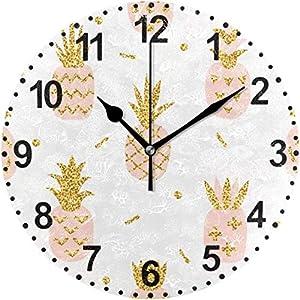 77 xiochgzish Reloj de Pared,