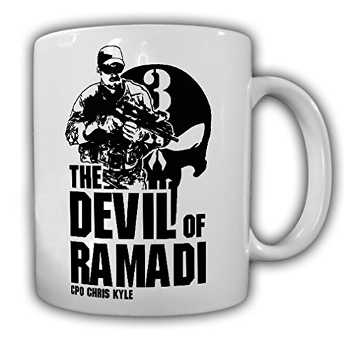 CPO Chris Kyle The Devil of Ramadi American Sniper Scharfschütze Tasse #15940 -