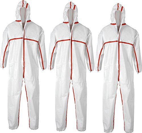 CS-Plus Weiß Gr. M-XXXL Farbe 3 Stück Größe XXL (Chemie-overalls)