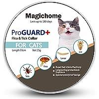 MagicHome Collar Antiparasitario para Gatos contra Pulgas, Garrapatas y Mosquitos