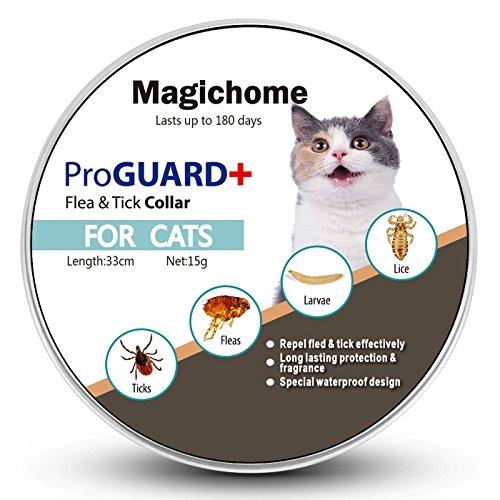 Magichome collana antiparassitario per gatti contro pulci, zecche e zanzare