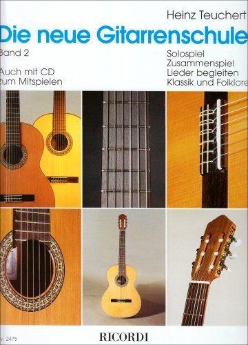 Heinz Teuchert Die neue Gitarrenschule Band 1 Noten mit CD und Download Code