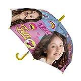 Disney Soy Luna 2400-323 Kinder Regenschirm, Automatisches Öffnen, Durchmesser 78 Zentimeter, Polyester, mehrfarbig