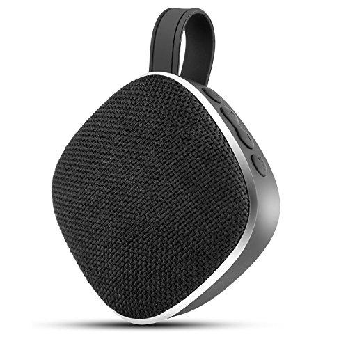 Bluetooth Lautsprecher Outdoor Tragbarer Stereo Mini Wireless Speaker mit FM-Radio und Mikrofon für Smartphones, Tablets, Laptops und anderen Bluetooth-Geräten
