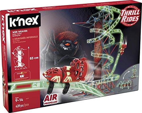 K'nex- Knex Thrill Rides Montaña Rusa Web Weaver