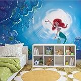 Disney Arielle Meerjungfrau - Forwall - Fototapete - Tapete - Fotomural - Mural Wandbild - (1918WM) - XXL - 368cm x 254cm - Papier (KEIN VLIES) - 4 Pieces