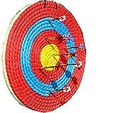 GK Deportes al Aire libreTiro con Arco Tiro con Arco Paja Flecha Objetivo Objetivo de Tiro con Arco Redondo de Paja sólida Tradicional Tiro de Arco Coloreado Cara Capa de Cuerda para la práctica