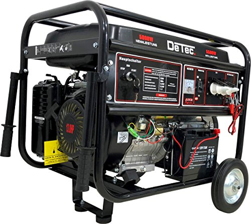 Stromerzeuger 5500 Watt 13 PS Benzin Stromaggregat 230V Generator mit E-Start !
