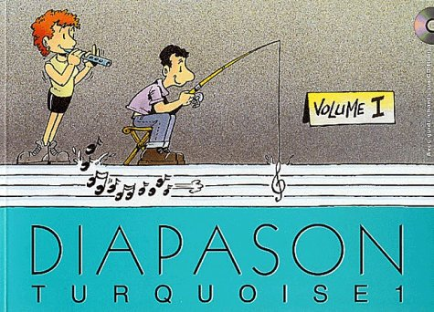 Diapason Turquoise, volume 1 : Carnet de 230 chants traditionnel