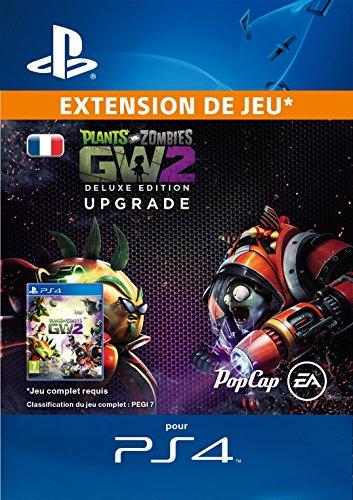Plants vs. Zombies Garden Warfare 2: mise à niveau Deluxe DLC [Code Jeu PSN PS4 - Compte français]