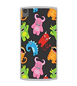 Fiobs Ghosts Goof Blck Funny Designer Back Case Cover For Oneplus X :: One Plus X