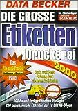 Goldene Serie. Die große Etikettendruckerei 2000. CD- ROM für Windows 95/98