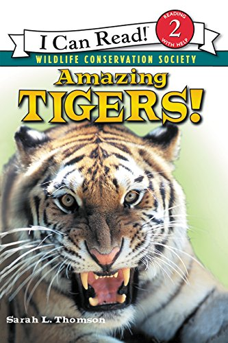 Amazing Tigers! (I Can Read: Level 2) por Sarah L. Thomson