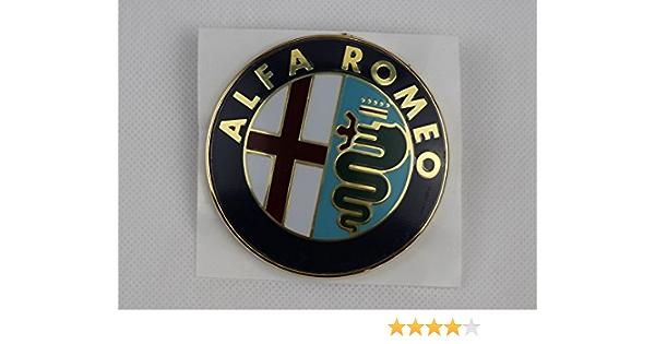 Markenzeichen Logo Alfa Romeo 33 75 145 146 155 156 164 166 Spider Gtv Vorne Auto