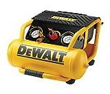 DeWalt Kompressor (1500 W, 10 L, 10 bar, 2.0PS Leichtstart-Motor, ölfreier Motor, inkl. 10 m Luftleitung) DPC10RC