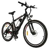peedrid Mountain Bike Pieghevole per Bici elettrica, Pneumatici 26/20 Ebike Bici elettrica per Bici con Motore brushless da 250 W e Batteria al Litio 36 V 8 Ah Shimano 21/7 velocità