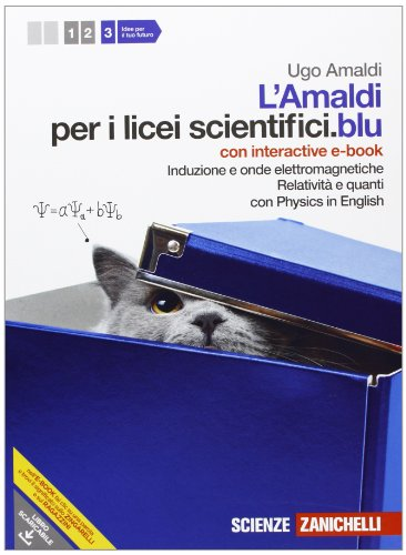 Amaldi per i licei scientifici.blu. Con Physics in english. Con inter active e-book. Con espansione online: 3