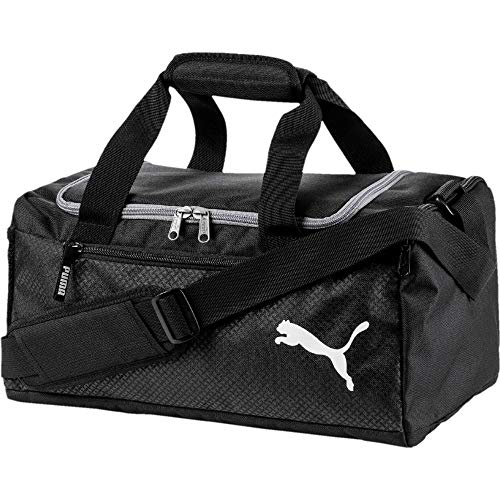 Puma Fundamentals Sports Bag, Unisex Adulto, Black, OSFA