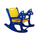 Wonderkart Baby Rocking Chair With Safety Bar And Arm Rest - Blue