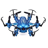 Dayiss JJRC H20C Mini Drone 2,4G 6 Axis Gyro 4CH RC Hexacopter Headless Modus RTF Quadcopter Helikopter Helikopter Flugzeuge Mode Remote Bauen in HD Kamera 2.0MP (Blau)