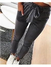 Amazon.it  taglie comode donna - Pantaloni   Donna  Abbigliamento cb5f92c90f3