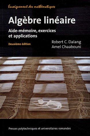 Algèbre linéaire: Aide-mémoire, exerc...