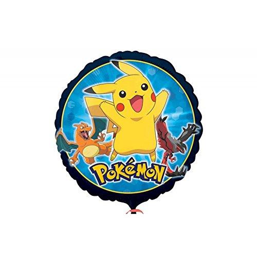 GUIZMAX Ballon Rond Pokemon Pikachu hélium