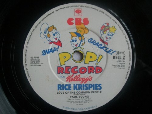 Snap! Crackle! Pop! Record From Kellog's Rice Krispies [Vinyl Single 7''] (Snaps Rice)